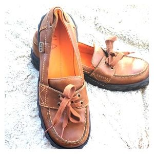 MIA leather loafers